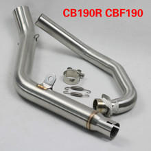 CB190R CBF190R Motorcycle Slip On Exhaust Akrapovic Muffler with Middle Link Pipe with Killer DB Mobile for Honda AK083 цены онлайн