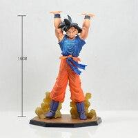 16 cm Figuarts ZERO Anime Dragon Ball Z Goku Battle Genki Dama Spirit Bom PVC Action Figure Collection Model speelgoed