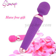 YAFEI 10 speed Magic Av Wand Massager Female G Spot Vibrator clitoris stimulator With Sleeve Sex Product Sex Toys For Women
