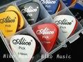 50pcs Acoustic Electric Guitar Picks Plectrums + 1 Plastic Picks Box Case Free Shipping