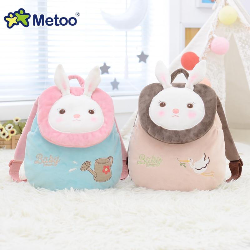 Orignal Metoo rabbit bunny backpack cute little backpack kindergarten school bag animal model
