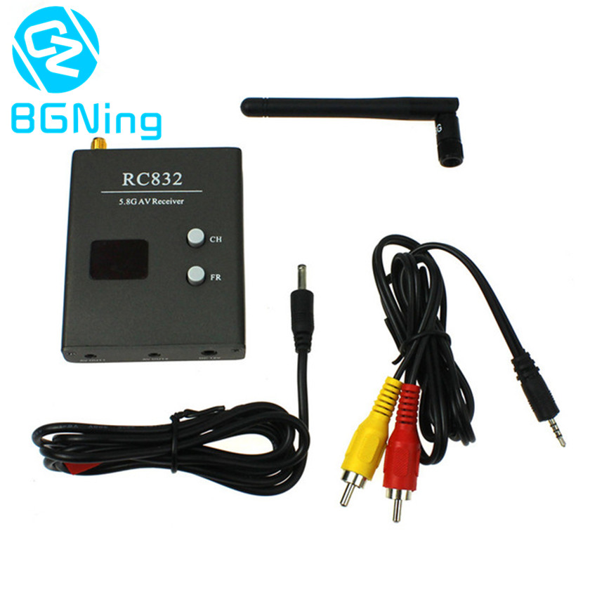 5.8G 40CH 600mw RC832 AV Receiver FPV Aerial Photo Studio Transmission Accessory