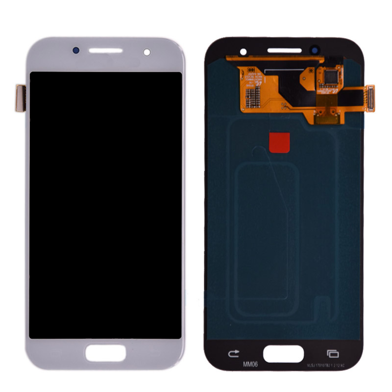 Original <font><b>AMOLED</b></font> A3 2017 <font><b>A320</b></font> LCD for SAMSUNG Galaxy A3 2017 A320F LCD Display Touch Screen Digitizer A320M SM-A320F Replacement image