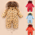 2017 Newest Baby snowsuit newborn white duck down jumpsuit Infant boys girls rompers Babies clothing outwear & coat kids clothes
