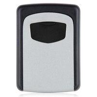 Wall Mounted 4 Digit Combination Key Storage Security Safe Lock Outdoor Indoor