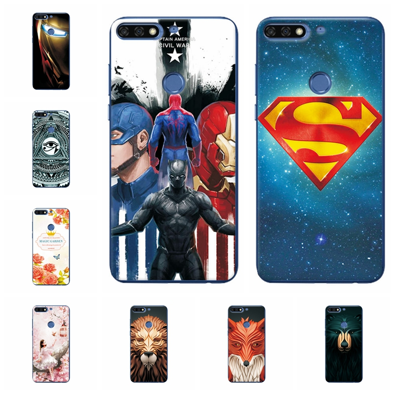 Attractive Phone Case For Huawei Y7 Pro 2018 Soft TPU Silicone For Huawei Honor 7C/Huawei Y7 Prime 2018/Huawei Y7 Pro 2018
