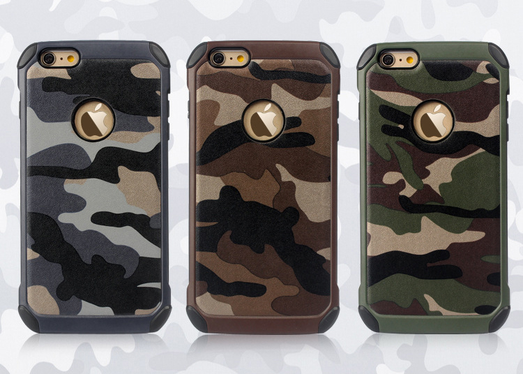 For iPhone 5 6 s plus 6plus 7 Camouflage Cell Phone Cases