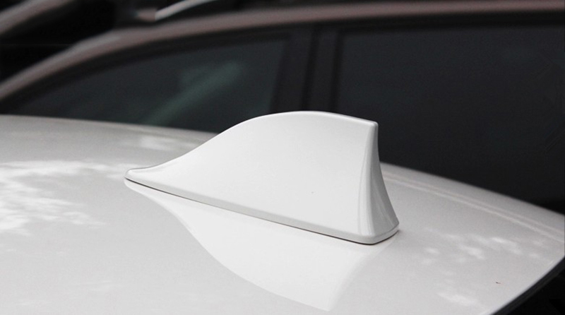 AIRSPEED Carbon Fiber Car Shark Fin Antenna Cover Radio Signal Base for Dodge Challenger SRT 2015-2020 Accessories