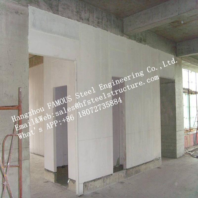 Precast Light Weight Concrete FASEC Prefab-I Panel For Interior And Exterior Walls