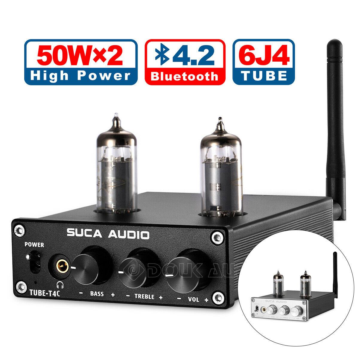 Mini HiFi Valve Tube Power Amplifier Bluetooth 4.2 Receiver Stereo Headphone AmpMini HiFi Valve Tube Power Amplifier Bluetooth 4.2 Receiver Stereo Headphone Amp