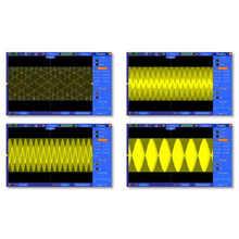 Hantek 2 in1 Digital Oscilloscope DSO4072S DSO4102S DSO4202S 70MHz 100MHz 200MHz 2CH 1GSa+25M Function Waveform Generator