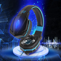 Original USB 3 5mm Gaming Headphone EACH G4000 Stereo Deep Bass Game Wired Headband Headset With
