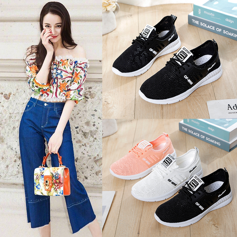 Liren 2019 Summer Fashion Casual Comfortable Women Sneakers Breathable Luxury Shoes Designers