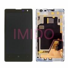 Для Lumia 1020 ЖК-дисплей Дисплей + Сенсорный экран планшета Ассамблея + Рамка Запчасти для авто