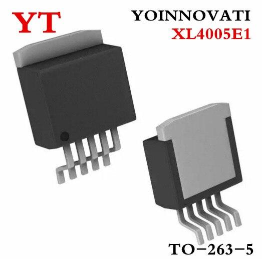10PCS Original XL4005E1 XL4005 TO-263 32V//5A//300KHZ NEW good qualiy