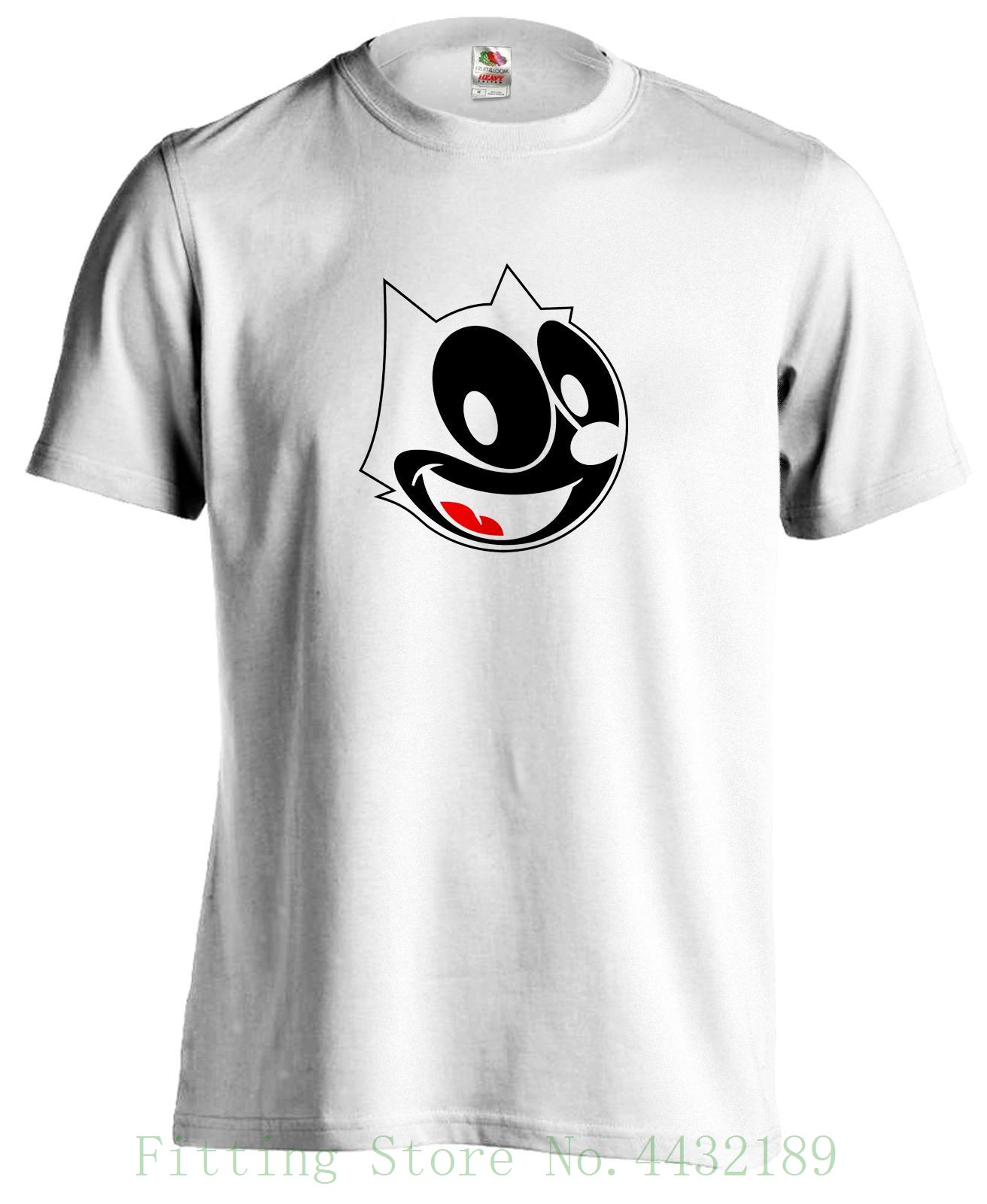 Felix The Cat Bd Dessin Anime Retro Vintage T Shirt T Shirt Hip Hop Novelty T Shirts Men 39 s Brand Clothing in T Shirts from Men 39 s Clothing
