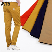 A15 Kids Boys Pants Casual Brown Kids Pants Boys Trousers 2017 Good Quality Teen Pencil Pants