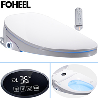 LCD Temperare display Intelligent Toilet Seat Smart Toilet Cover Automatic Electric Remote Toilet Body Bidet Cleaner K5