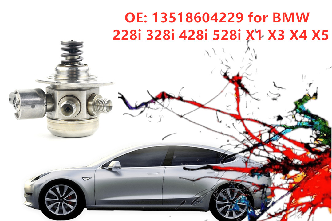 OE:13518604229 High Pressure Fuel Pump For BMW 228i 328i 428i 528i X1 X3 X4 X5 Metal Auto Replacement Parts Fuel Supply SystemOE:13518604229 High Pressure Fuel Pump For BMW 228i 328i 428i 528i X1 X3 X4 X5 Metal Auto Replacement Parts Fuel Supply System