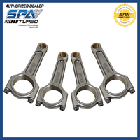 For OPEL C20 C20NE C20XE C20LET Z20LET Z20LEH Z20LE 143mm 4340 forged connecting rods con rods for Astra Calibra Vectra Kadett