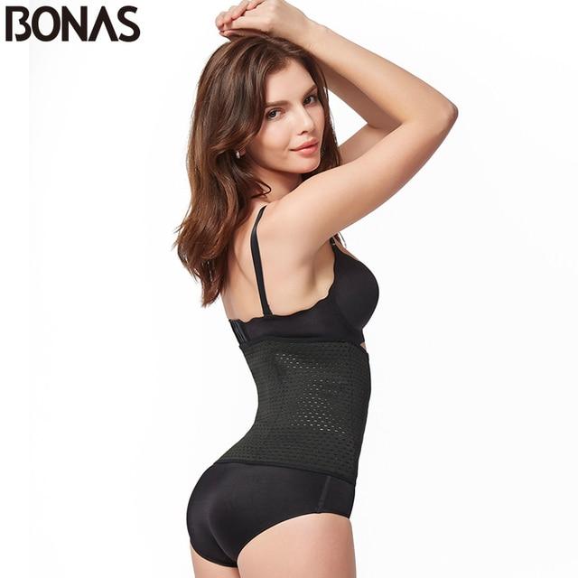 Body Shaper Slimming Women Breathable Corset Waist Trainer Belt Lady Postpartum 3