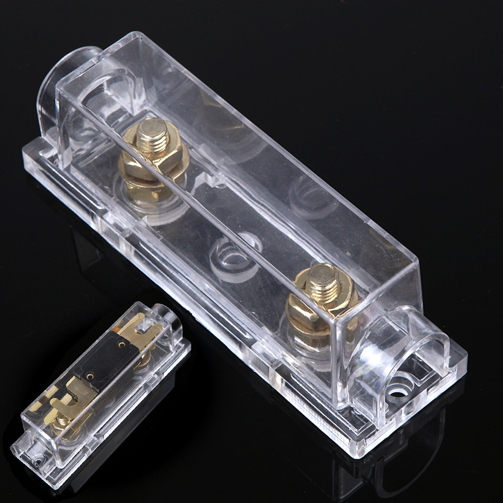 small resolution of car style fuse holder anl fuse box distribution fuseholder fuse holder blade inline 0 4 8 gauge positive 300 amp