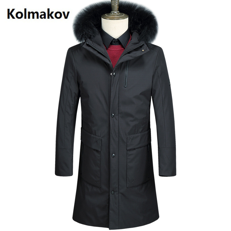 2017 winter Down Coats Mens high quality Parkas casual men coats ,White duck down down jackets men size M-3XL