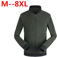 Plus size 8XL 6XL 5XL 4XL Brand Jacket Men Trend Stand Collar Korean Slim Fit Mens Designer Clothes Men Casual Jackets and Coats