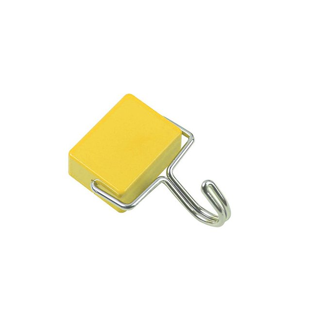 Super-sterke ferromagnetische traceless haak Keuken koelkast hangable artikelen Roterende sterke magneet haak