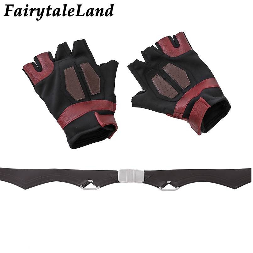 Image 5 - Star Lord Jacket short jacket cosplay Halloween Gloves Guardians of the Galaxy 2 Belt Star Lord cosplay Pants leather jacket-in Movie & TV costumes from Novelty & Special Use