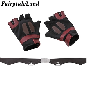 Image 5 - Star Lord Jacket short jacket cosplay Halloween Gloves Guardians of the Galaxy 2 Belt Star Lord cosplay Pants leather jacket