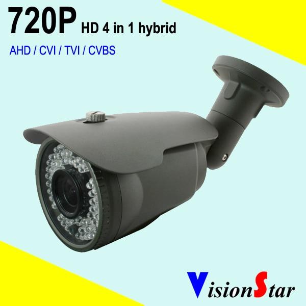 1.0mp 720P HD AHD / TVI / CVT / CVBS hybrid bullet cctv camera for outdoor analog security system серия литературных мемуаров комплект из 36 книг