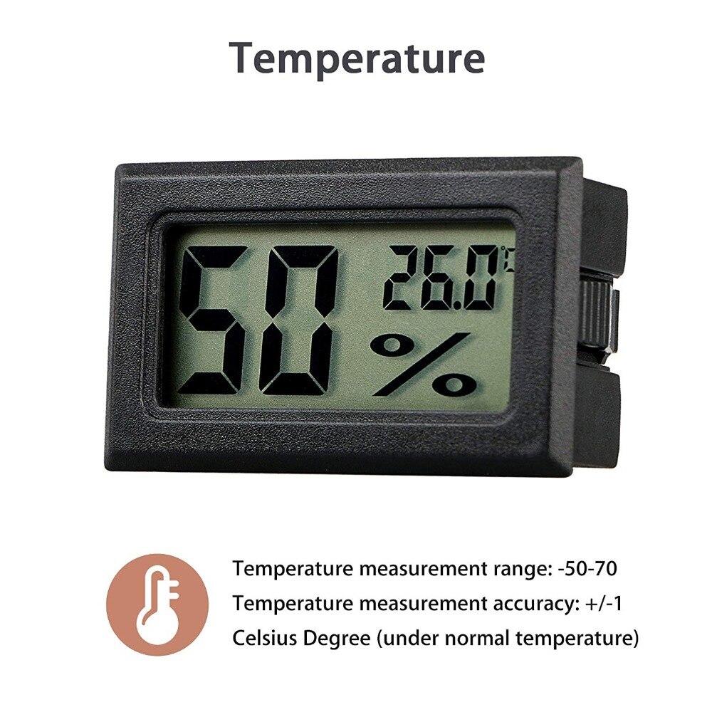 HTB1VwSvXIrrK1RjSspaq6AREXXak Mini Black Digital LCD Temperature Humidity Indoor Room Humidity Meter Thermometer Hygrometer Temperature Sensor Humidity