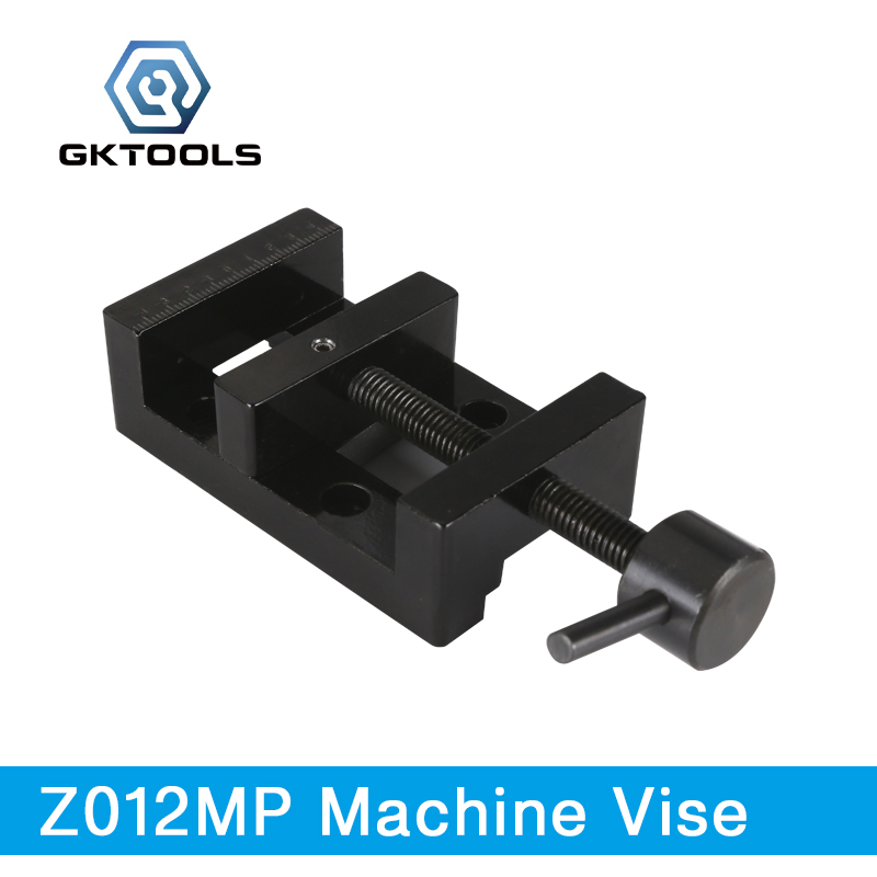 GKTOOLS, Electroplated Metal Machine Vise used for Fix Work Pieces, Z012MP gktools electroplated metal sawing table working table of jigsaw z025mp
