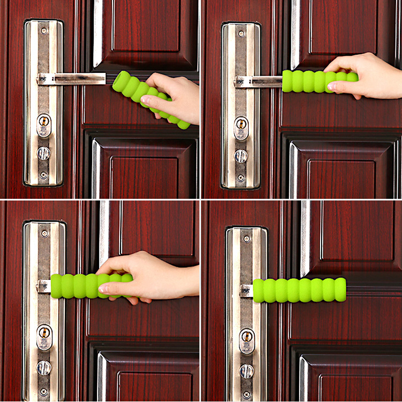 1pcs Door Knob Cover Handle Set For Baby Child Safety Supplies/Room Doors Knob Covers Spiral Anti-collision Security Dust Cover