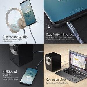 Image 2 - Essager Aux Altoparlante Cavo di Filo 3.5mm Jack Cavo Audio Per Auto Adattatore Per Cuffie Jack Maschio a Jack Da 3.5mm cavo Per Samsung Xiaomi