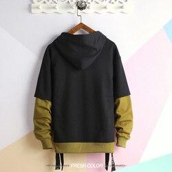 Pathwork hoodies Printed Sweatshirts Hoodies Men Casual Hooded Pullover Streetwear 2019 hip hop 3