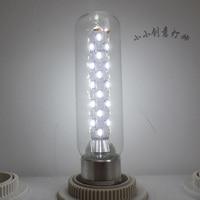10PCS Edison Light Bulb LED The New T10 Low Carbon Energy Saving Light Tubes 5W Warm