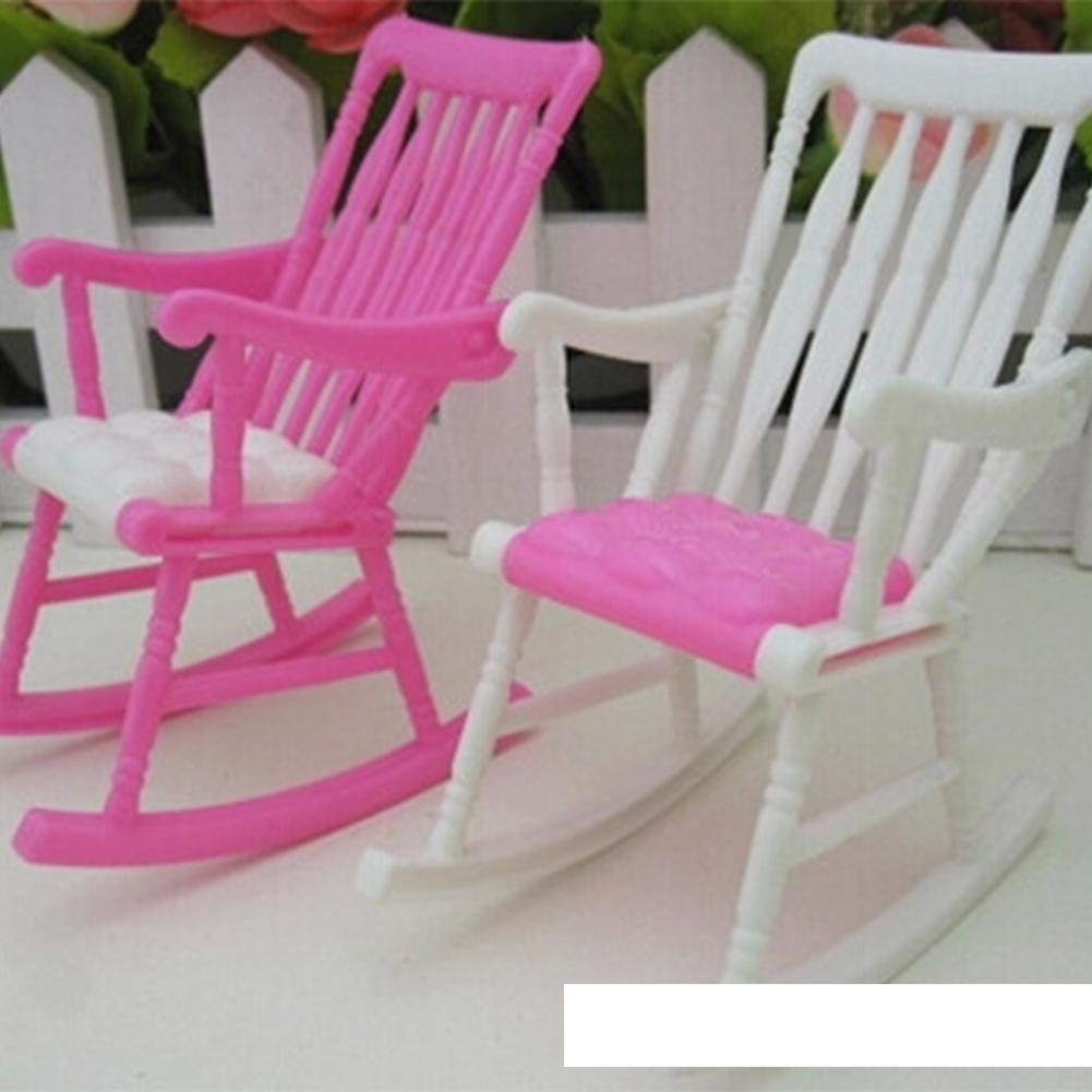 Us 0 82 46 Off Leadingstar Children Toy Cute Dollhouse Nursery Furniture Rocking Chair Random Color Zk15 In Dolls Accessories From Toys Hobbies On