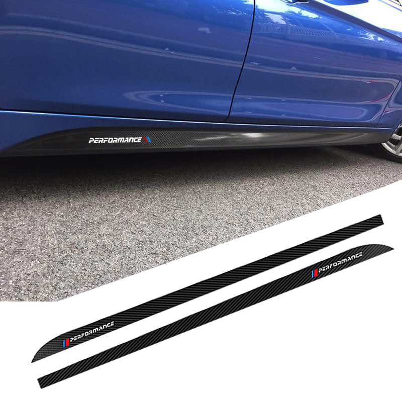 2pcs 5D M Performance Car Styling Sticker Body Decals For BMW 3 4 5 Series F30 F32 F33 E60 E61 320i 316i 328i Car Accessories