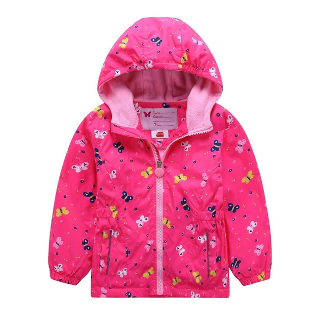 80db58070 Waterproof Index 5000mm Warm Baby Girls Jackets Child Coat Children ...