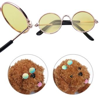 1PC Cute Colorful Pet Cat Dog Glasses Pet Products For Little Dog Cat Eye-wear Protection Dog Sunglasses Photos Pet Accessoires 1
