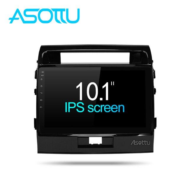 Asottu MKLZ1081 Android 8,1 reproductor de DVD del coche para toyota Land Cruiser Octa Core DVD del coche de navegación GPS reproductor de Radio del coche multimedia