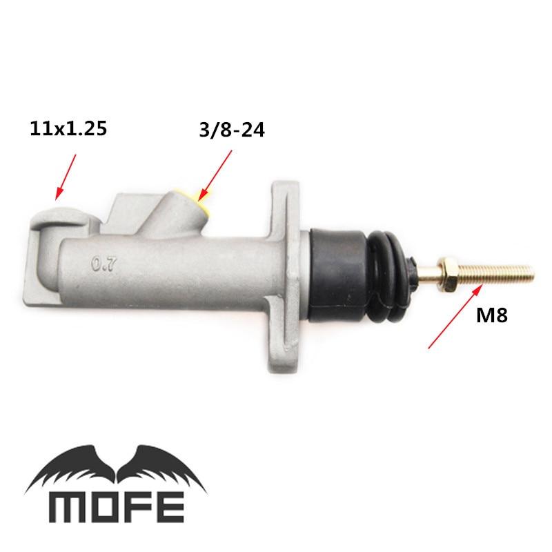 Brake Clutch Master Cylinder 0.75 Bore Remote for Hydraulic Hydro Handbrake