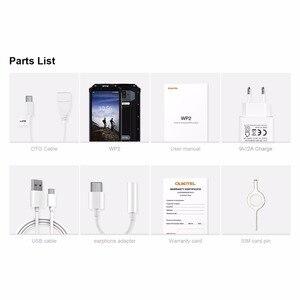Image 2 - Ударопрочный смартфон OUKITEL WP2, 4 ГБ+64 ГБ, MT6750T восемь ядер, 6 дюймовый дисплей 18:9, 10000 мАч, сканер отпечатков пальцев, водозащита IP68, пылезащищенный мобильный телефон