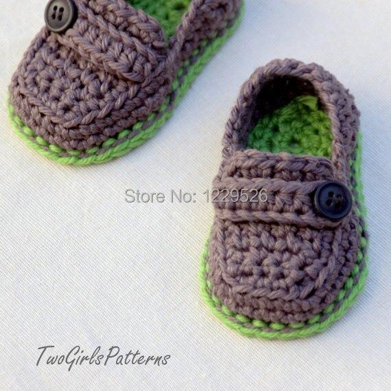 Zapatos de bebé del ganchillo suave mezcla de la manera infantil ...