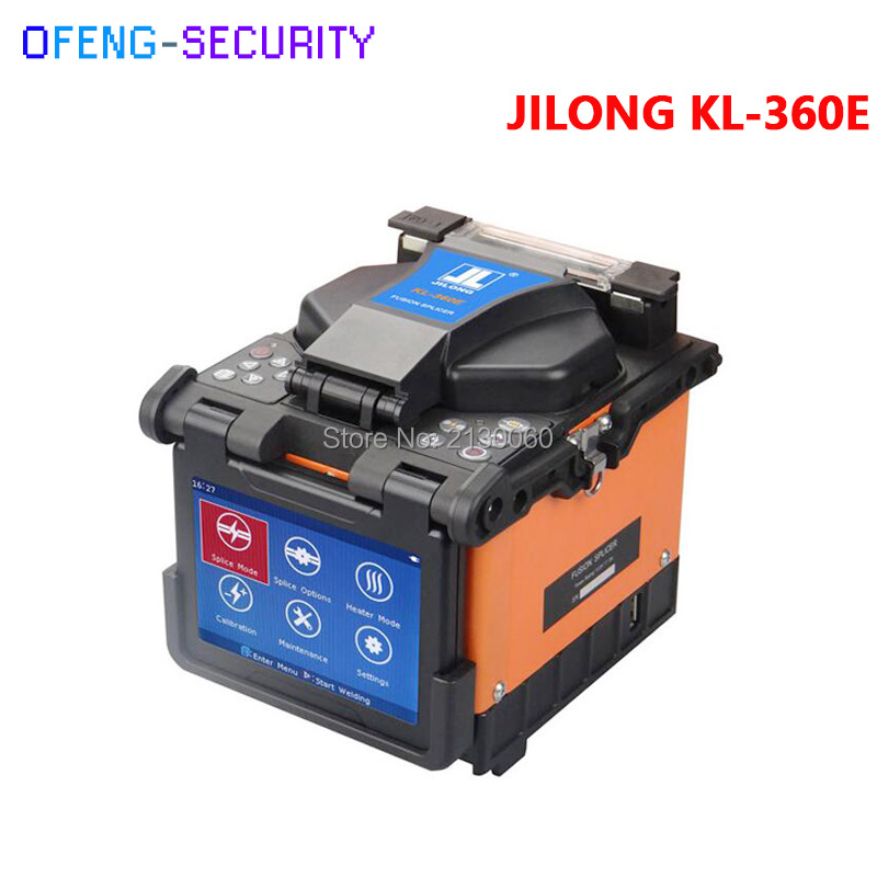 KL-360E JILONG Fusion Splicer KL-360E Fiber Optic Fusion Splicing Machine Origninal Jilong