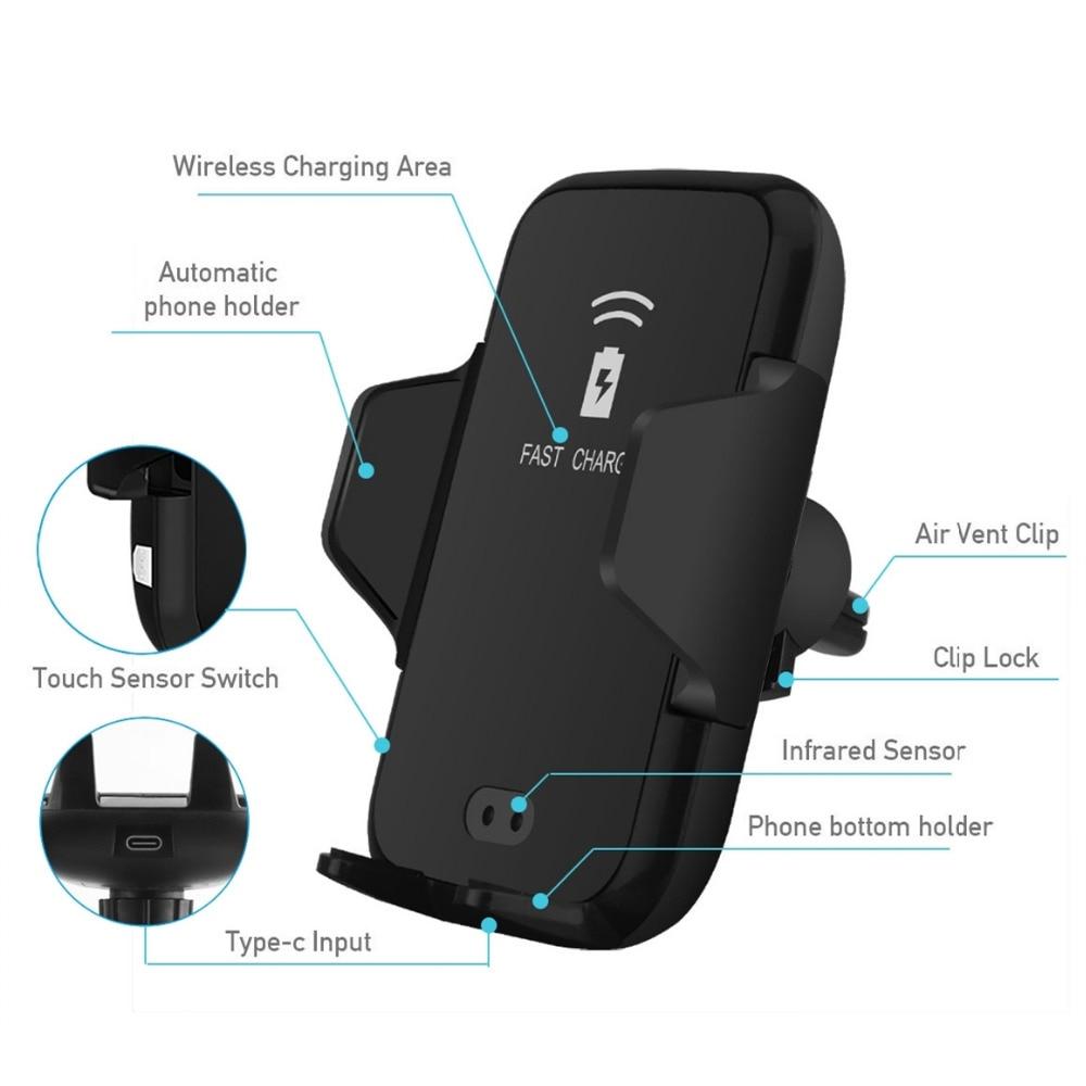 İPhone 11 X 8 XS Max XR Samsung S8 S9 S10 Avtomatik İnfraqırmızı - Cib telefonu aksesuarları və hissələri - Fotoqrafiya 5