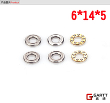 Freeshipping 3 PIECES LOT 6 14 5 Bearing Size For GT550 RC Helicopter Align Trex