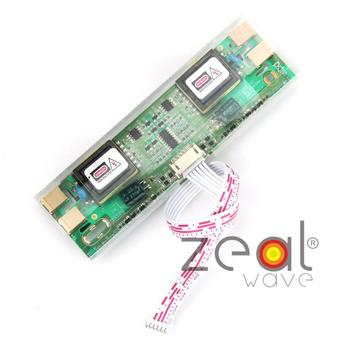 Universal 2pins 3.5mm 4 Lamps LCD CCFL Backlight Inverter Board For Laptop Monitor LCD Screen  12V Input